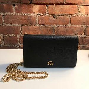 GUCCI GG Marmont leather mini chain bag: BRAND NEW